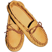 Scout Moccasin-Size 12/13 - Leather Kit