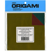 """Assorted Colors Double-Sided Foil - Origami Paper 5.875""""X5.875"""" 18/Pkg"""