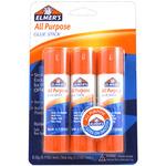 All Purpose Glue Sticks 3/Pkg