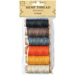 Sunrise - Hemp Thread 2 Ply 6 Mini Spools/Pkg