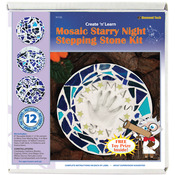 Starry Night - Mosaic Stepping Stone Kit