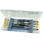 "14""X6""X1.25"" Translucent - ArtBin Brush Box"