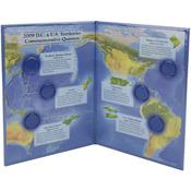 2009 - U.S. Territory & D.C. Quarter Color Folder