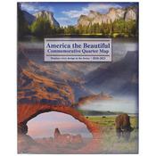 2010-2021 - America The Beautiful Commemorative Quarter Map