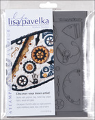 Steampunk Innie & Outtie - Lisa Pavelka Stamp Set