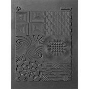 """Illusionary - Lisa Pavelka Individual Texture Stamp 4.25""""X5.5"""" 1/Pkg"""
