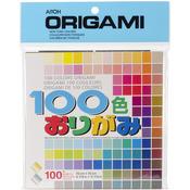 "100 Colors - Origami Paper 5.875""X5.875"" 100 Sheets"