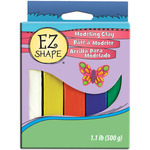Brights 5/Pkg - EZ Shape Modeling Clay Non-Hardening