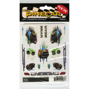 "Bear - Pine Car Derby Dry Transfer Decal 4""X5"" Sheet"