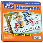 Hangman - Take 'N' Play Anywhere Magnetic Game