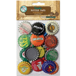 "Vintage Blend - Vintage Collection Standard Bottle Caps 1"" 24/Pkg"