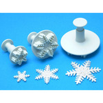 Snowflake - Plunger Cutters 3/Pkg