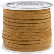 "Toast - Suede Lace .125"" Wide 25yd Spool"
