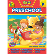 Preschool, Ages 3-5 - Big Workbook