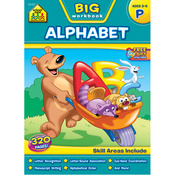 Preschool Alphabet, Ages 3-5 - Big Workbook