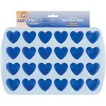 """24 Cavity Heart 1.5""""X1.75"""" - Easy-Flex Silicone Bite Size Mold"""