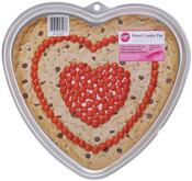 "Heart 11.5""X10.5""X.75"" - Giant Cookie Pan"
