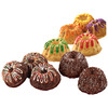 24 Cavity 16.5 X10.5  - Mini Fluted Pan WILTON-Mini Fluted Bundt Pan. Create delicious mini bundt cakes for a party or family dinner with this pan. Mold has twenty-four 2.07x0.886 inch cavities. Pan is easy to clean and is dishwasher safe, plus is quick release. This package contains one 16-1/2x10-1/2 inch metal pan. Imported.