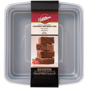 """9""""X9"""" - Recipe Right Covered Brownie Pan"""