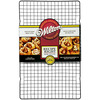 10 inches X16 inches  - Recipe Right Non-Stick Cooling Grid WILTON-Recipe Right Cooling Grid. Let all of your favorite treats cool on this rack! It is non-stick and dishwasher safe but is recommended for hand washing in warm and soapy water. This package contains one 10x16 inch cooling grid. Imported.