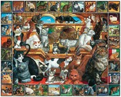 The World of Cats Lovable Pets 1000 Pieces - Jigsaw Puzzle