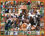 "The World of Dogs - Jigsaw Puzzle Lovable Pets 1000 Pieces 24""X30"""