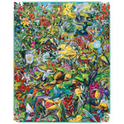 "Hummingbirds - Jigsaw Puzzle 1000 Pieces 24""X30"""