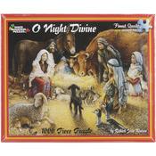 "O Night Divine - Jigsaw Puzzle 1000 Pieces 24""X30"""