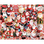 "Crazy Santas - Jigsaw Puzzle 1000 Pieces 24""X30"""