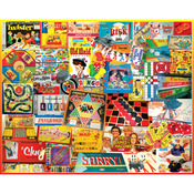 "Games We Played - Jigsaw Puzzle 1000 Pieces 24""X30"""