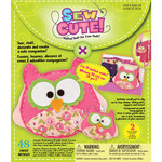 Owl - Sew Cute Craft Box Kit - Makes 2