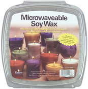 Microwaveable Soy Wax For Glass Containers 1.5lb - Yaley