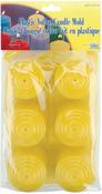 Plastic Votive Candle Mold 6/Pkg-