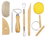 8 Pieces - Pottery Tool Kit