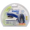 Blue - Mini Grip Stapler Kit