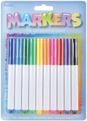 Assorted Colors - Glass Markers 10/Pkg