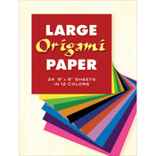 "Large Origami Paper 9""X9"""