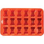 """9""""X5.5"""" 18 Cavity (1.5"""") - Mini Bone Silicone Cake Pan"""