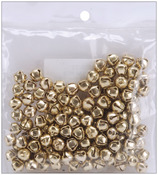 "Gold - Jingle Bells .25"" 144/Pkg"