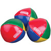 Multicolor - Juggling Balls DUNCAN TOYS-Juggling Balls. A fun way to learn a new trick to impress people! Comes with a CD Rom that includes music, video, how to juggle and other stunts and bloopers. It teaches the basic jugging patterns, includes balls, scarves, rings and clubs. This package contains three juggling balls and a CD Rom. Made in USA.