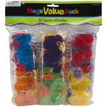 Sports Whistles - Mega Value Pack Party Favors 30/Pkg