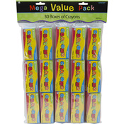 Crayons - Mega Value Pack Party Favors 30/Pkg