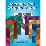 """Metallic Foil Origami Paper 5.875""""X5.875"""" 18/Pkg-"""