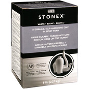White - Stonex Self-Hardening Clay 5 Pounds