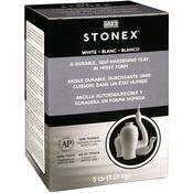 White - Stonex Self-Hardening Clay 5 Pounds