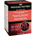 Red - Mexican Self-Hardening Clay 5 Pounds