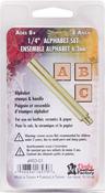 """Alphabet .25"""" - Easy-To-Do Series Stamp Set"""