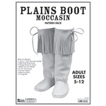 Adult Plains Boot Moccasin Pattern Pack