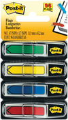 """Assorted Primary Colors - Post-It Arrow Flags .47""""X1.7"""" 96/Pkg"""