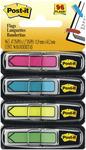 "Assorted Neon Colors - Post-It Arrow Flags .47""X1.7"" 96/Pkg"